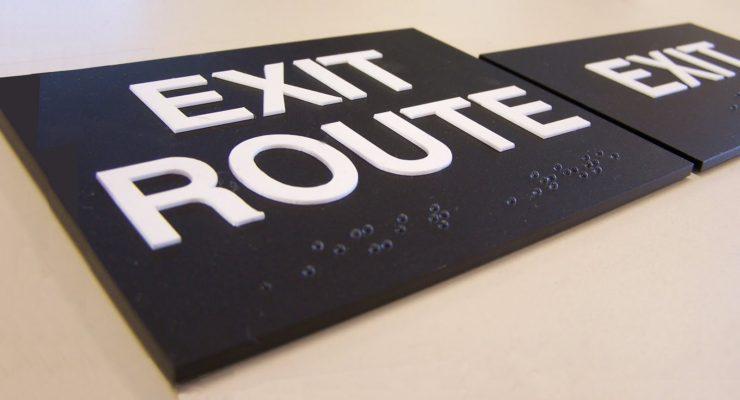 ADA Door Signs – Proper Location Of Tactile Signs At Doors