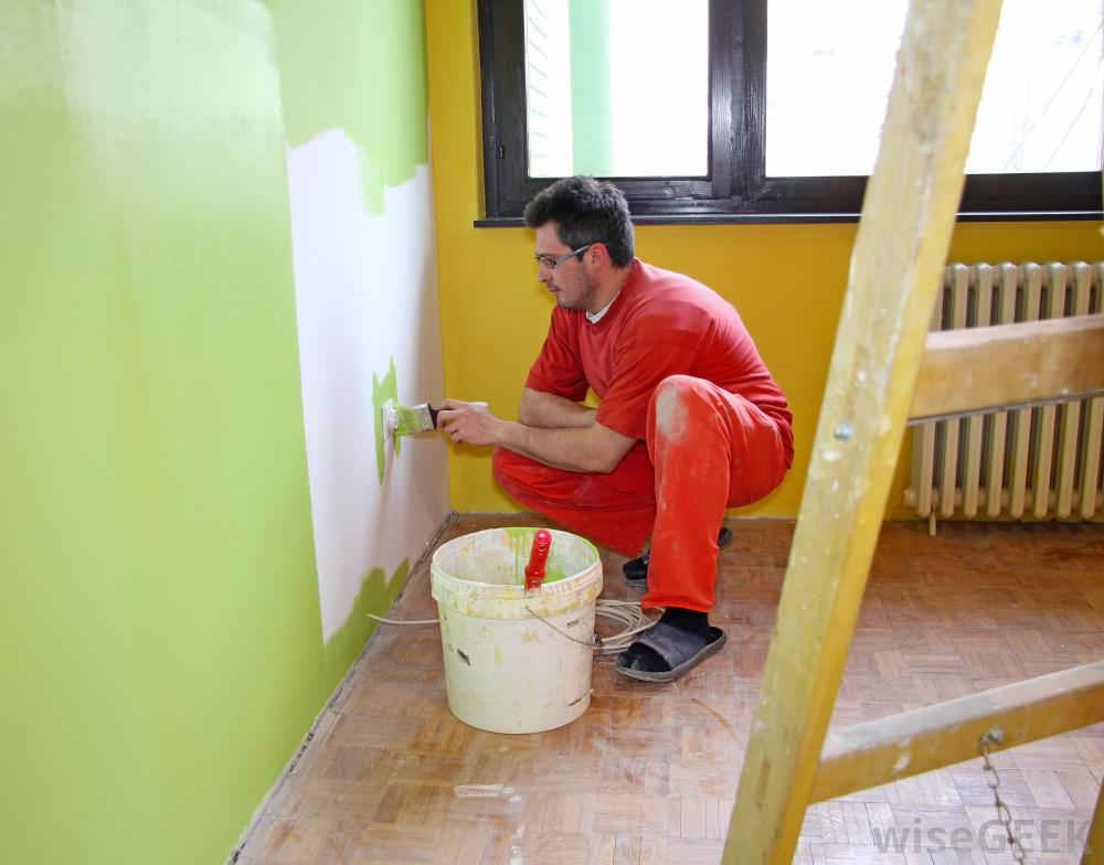 Getting Your House Painted. Hire A Painter