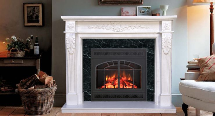 Give An Elegant Look To Your Home With Marble Mantels