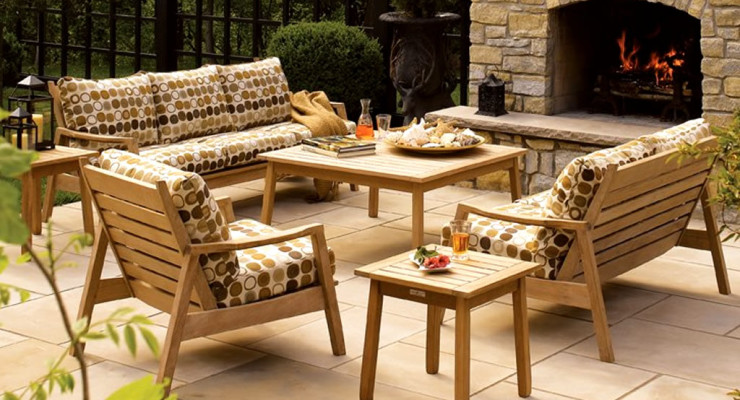 Promote Go Green Concept With Recycled Teak Furniture