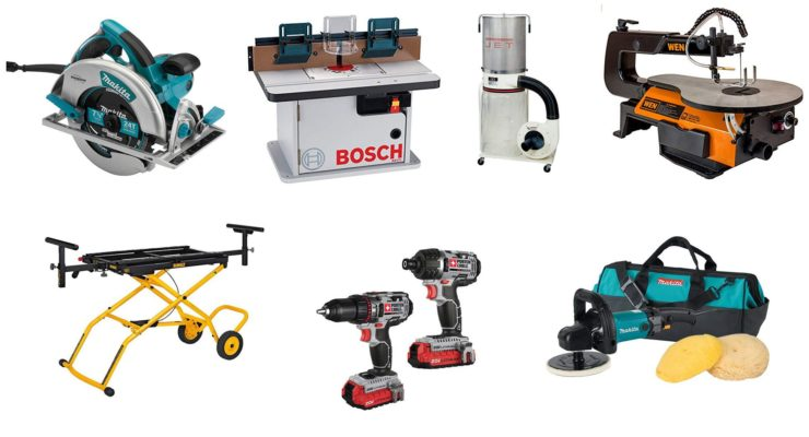 Woodworking Shop Tool Essentials